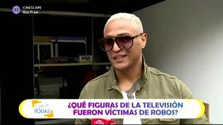Celebridades de la televisión peruana que fueron víctimas de robos