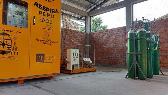 Esta es la sexta planta de oxígeno medicinal para afectados por la COVID-19 que está instalada en distrito de Chulucanas, en la provincia de Morropón. (Foto: Ministerio de Salud)