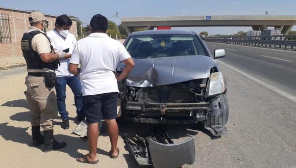 Piura: Mototaxista muere tras impactar violentamente contra un automóvil en la vía Piura - Paita.