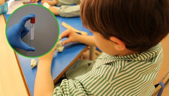 Papitos deben entregar examen de hemoglobina al matricular a sus niños en inicial