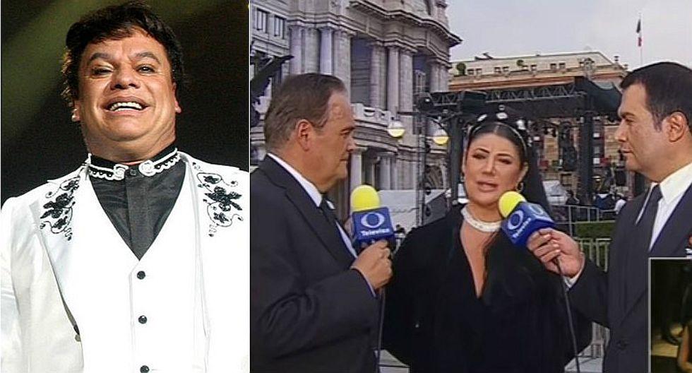 Juan Gabriel: Actriz va a homenaje y revela que se fijó en su ex esposo [VIDEO]