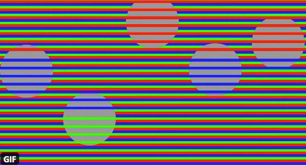¿Son de un solo color o varios? Esta es la gran interrogante de esta ilusión óptica. (Foto: Twitter/@NovickProf)