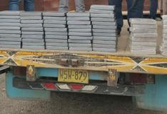Incautan 79 kilos de clorhidrato de cocaína tras intervenir camión en Arequipa