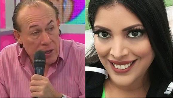 """""""Yuca"""" sobre denuncia de Clara Seminara: """"sí le dí un manazo, pero en la cintura"""" │VÍDEO"""