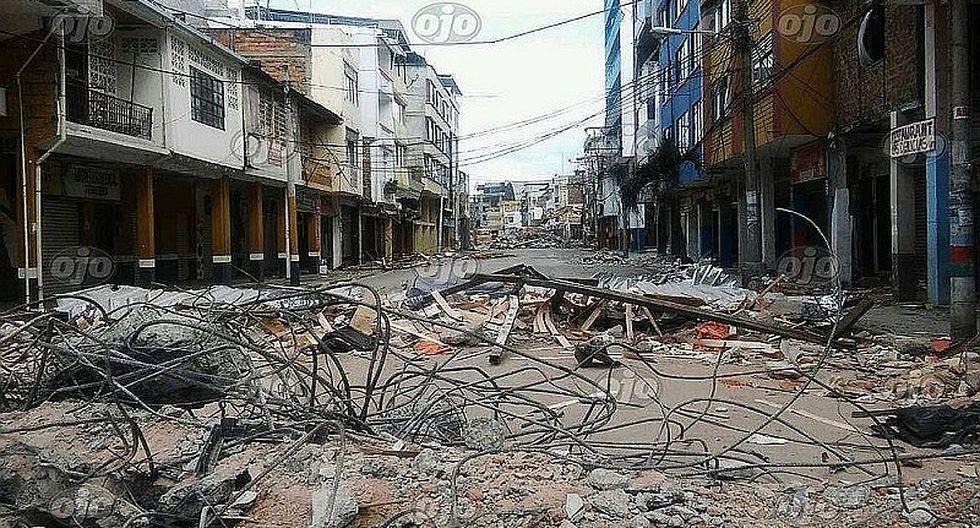 Terremoto en Ecuador: El país tendrá que volver a reconstruirse tras sismo