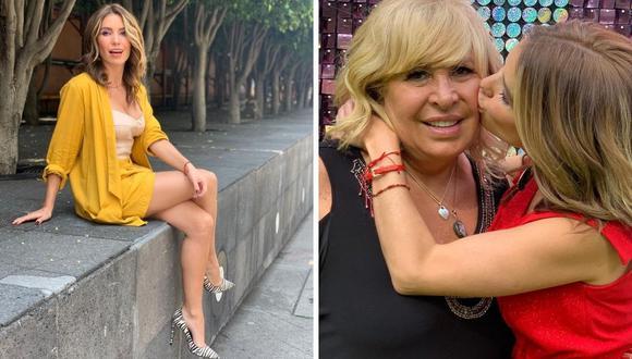 Andrea Escalona no ha confirmado la noticia en sus redes sociales y continua compartiendo imágenes al lado de su fallecida madre. (Foto: Instagram / @andy_escalona).