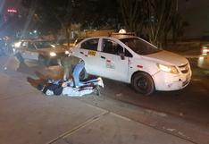 Los Olivos: tras una persecución caen raqueteros que asaltaron a una joven