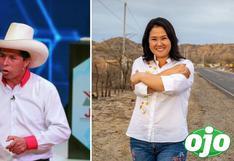 ONPE al 99.9% de actas procesadas: Pedro Castillo lidera con 19.119% y Keiko Fujimori llega a 13.362%