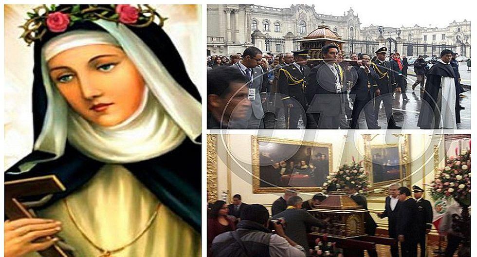 Santa Rosa de Lima: ¡Puedes visitar sus reliquias en la Municipalidad de Lima!