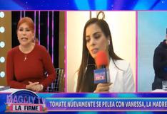 'Tomate' Barraza abandona entrevista con Magaly Medina para evitar discutir con Vanessa López