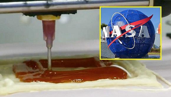 ¡Qué rico! Esta es la pizza que comen los astronautas en el espacio (VIDEO)