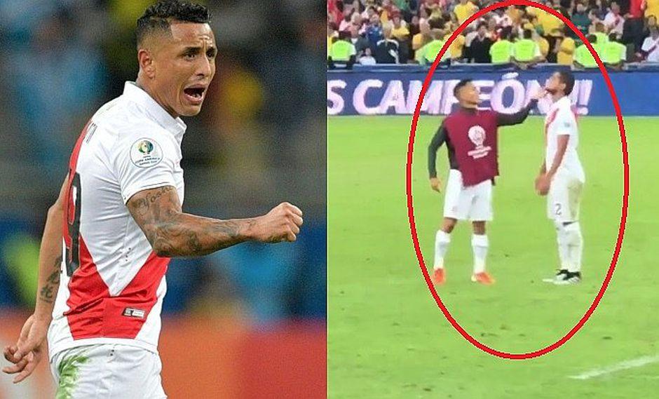 El conmovedor gesto de Yoshimar Yotún con Luis Abram tras la final de la Copa América │VÍDEO