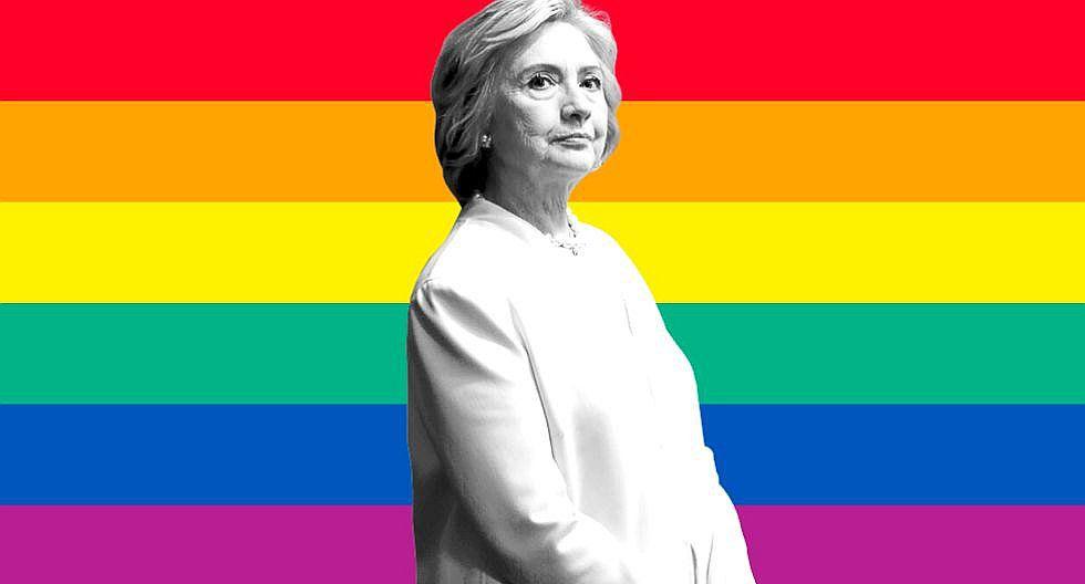 Hillary Clinton se centra en homosexuales de Florida para ganar votos