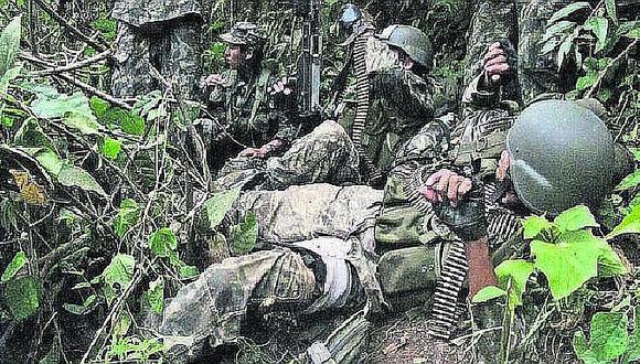 Suboficial muere en enfrentamiento con terroristas en el Vraem