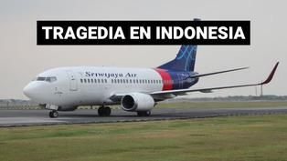 Avión cae al mar de Indonesia cuando llevaba 62 pasajeros
