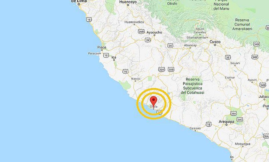 Sismo de 4.8 grados se registró en Arequipa esta madrugada