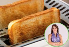 """Cuándo comer pan tostado: si siempre tuestas el pan """"porque engorda menos"""", estás en un error"""