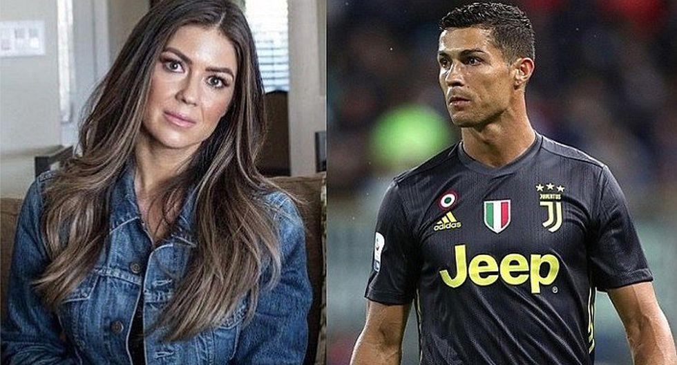 Difunden imágenes de Cristiano Ronaldo con la mujer que lo acusó de violación sexual