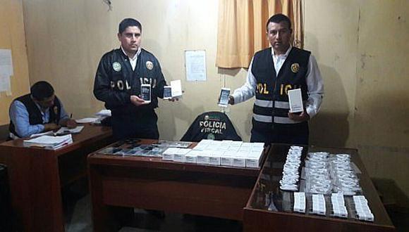 Cercado de Lima: incautan teléfonos celulares con accesorios del extranjero (FOTOS)
