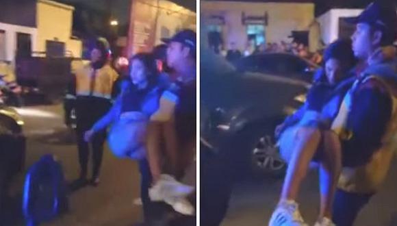 Mujer sube a taxi colectivo y es baleada tras huir de tres ladrones