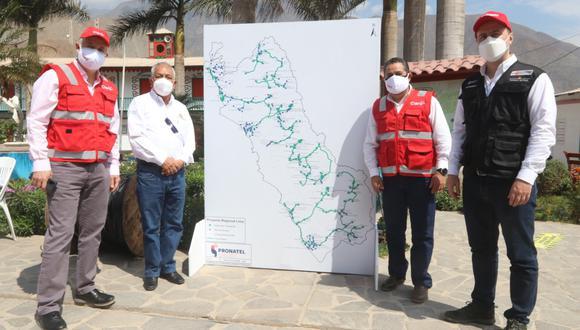 Lima región: Ponen en marcha proyecto que llevará internet de alta velocidad a 291 localidades (Foto difusión)