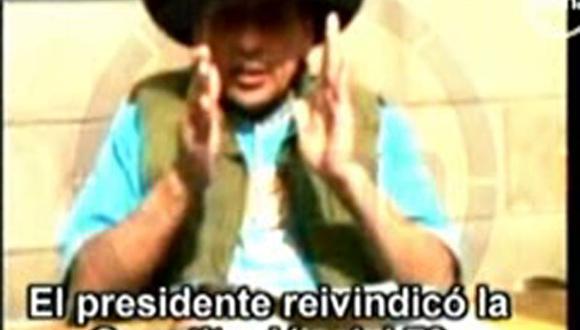 Video: Antauro Humala pide a Ollanta su libertad