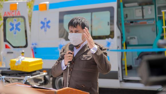 El gobernador Elmer Cáceres Llica anunció que no postulará a la presidencia de la República. (Foto: Gobierno Regional de Arequipa)