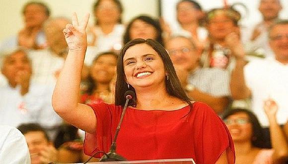 Verónika Mendoza confirma su deseo de volver a postular a la presidencia