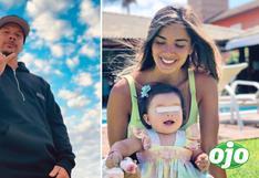 Mario Hart emocionado porque se reencontrará con Korina Rivadeneira y su pequeña Lara luego de varios meses