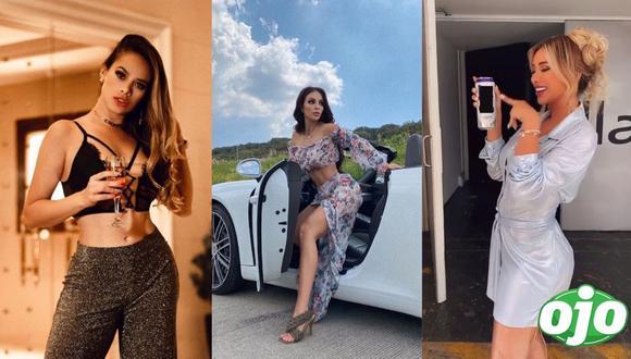 Imágenes extraídas del Instagram de: Paula Manzanal, Jossmery Toledo y Sheyla Rojas