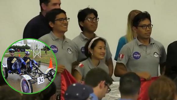 Estudiantes peruanos crean vehículo lunar y ganan concurso de la NASA