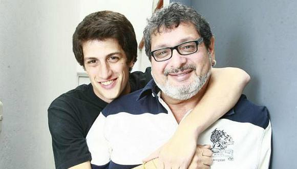 Asi fue la despedida de Stefano Tosso a su padre Ricky Tosso
