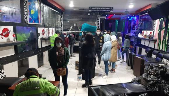 Cusco: las autoridades informaron que entre los detenidos, seis eran portadores del coronavirus. (Foto: PNP)