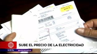 Precios de servicio eléctrico aumenta en todo el país