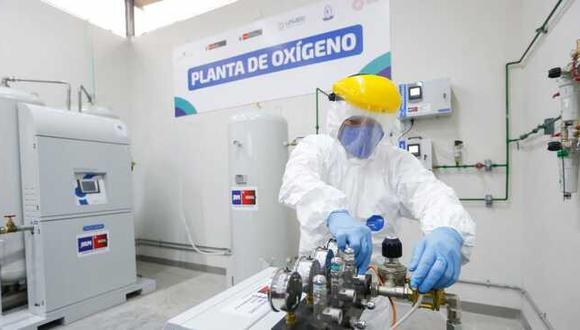 El Perú ya cuenta con un total de 306 plantas de oxígeno medicinal a nivel nacional. (Foto: Minsa)
