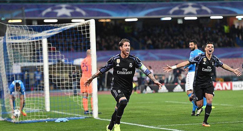 Liga de Campeones: Sergio Ramos genial mete al Real Madrid en cuartos