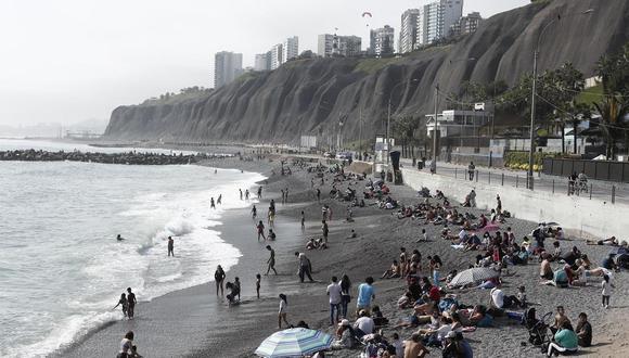 Gobierno evalúa restricciones en acceso a las playas. (Foto: GEC)