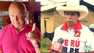 """Pedro Castillo busca aliados: """"he conversado con Hernando de Soto y la próxima semana dialogaré con Juntos por el Perú"""""""