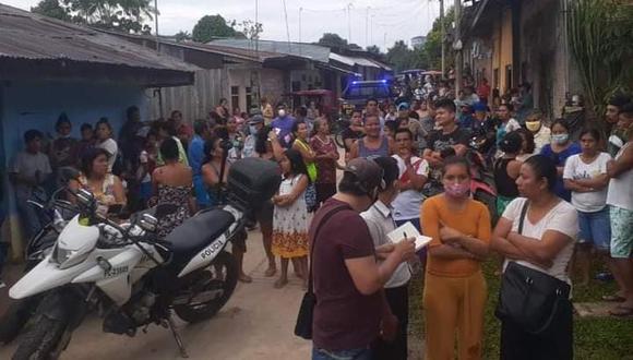 Loreto: el feminicidio se registró el interior de una vivienda ubicada en el asentamiento humano Juan Carlos del Águila. (Foto: Facebook)