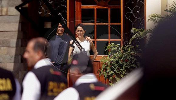 Nadine Heredia saca las 'garras' y pide que se metan con ella y no con sus hijos (FOTOS)