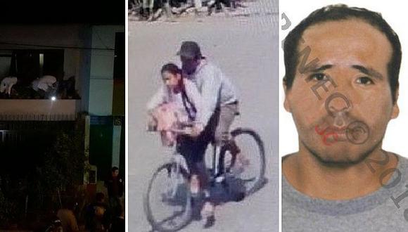 Policía hizo pruebas en casa de asesino confeso de niña de 11 años calcinada en SJL (VIDEO)