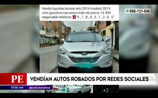 Independencia: detienen a sujeto que vendía autos robados a través de las redes sociales