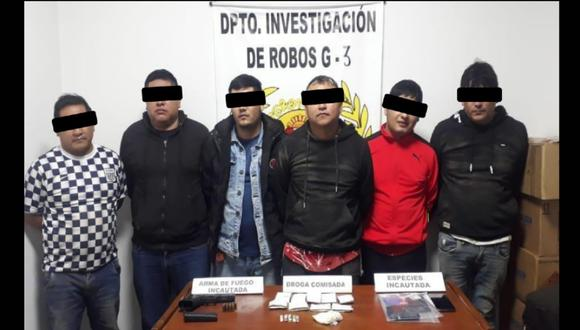 Trujillo: vecinos escuchan disparos dentro de vivienda y PNP desarticula banda criminal (Foto: PNP)