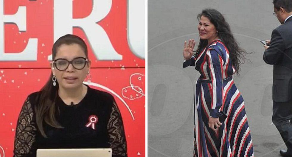 """""""Me ha dado calambre en el ojo"""": Milagros Leiva critica look de Yesenia Ponce por Fiestas Patrias   VIDEO"""