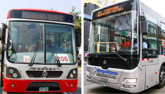 Metropolitano y Corredores Complementarios funcionarán de manera regular por Semana Santa. (Foto: Difusión)