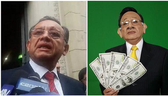 ¡No le gustó! Contralor envía carta notarial a Carlos Ávarez por imitación (FOTO)