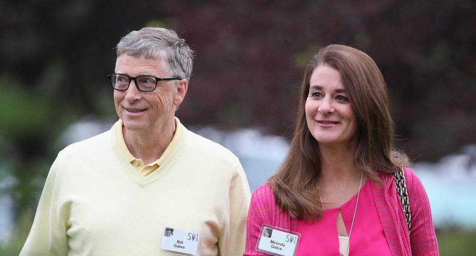 Bill y Melinda Gates en una foto tomada en julio del 2015. La pareja anunció su separación tras 27 años de matrimonio. (Foto: Scott Olson / AFP)