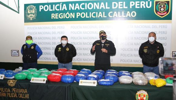 'Los Huaralinos' fueron capturados por la PNP en el Callao. (PNP)