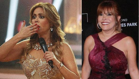 "Gisela Valcárcel dice esto de la boda de su ""comadre"" Magaly Medina"