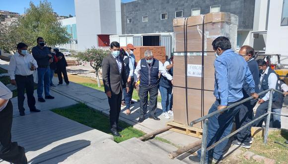 Moquegua: el Almacén Regional de Vacunas cuenta con un motor de emergencia ante eventuales, cortes o interrupciones de energía eléctrica. (Foto: Geresa)